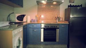A kitchen or kitchenette at Loft Select Real Caldas de Reis