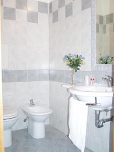 Salle de bains dans l'établissement Affittacamere Paradise