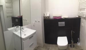 Łazienka w obiekcie Apartment Gdański Albatros 95