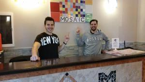 Staff members at Hostel Mosaic