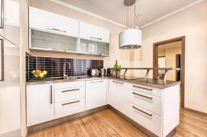Küche/Küchenzeile in der Unterkunft Konvikt Apartment