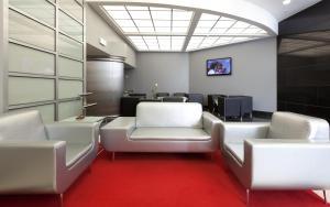Zona de estar de Hotel Alif Avenidas