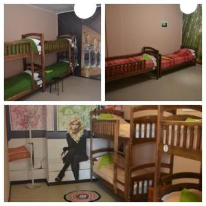 A bunk bed or bunk beds in a room at Fainyi Hostel