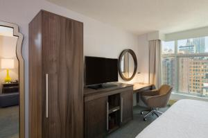 A television and/or entertainment center at Hampton Inn Manhattan Chelsea