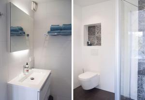 A bathroom at De Molenaar