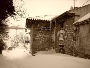 Posada Rural Fontibre en invierno