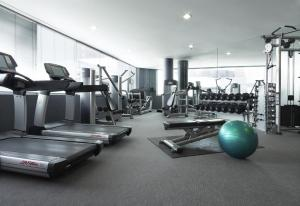 The fitness centre and/or fitness facilities at Hyatt Regency Perth