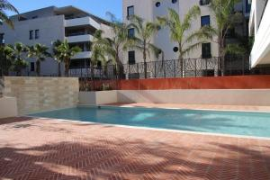 The swimming pool at or near Luxury one bedroom Cannes