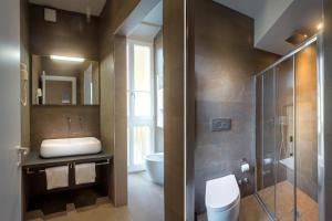 A bathroom at Soggiorno Campos