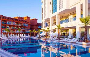The swimming pool at or near Diamond Elite Hotel & Spa - Adults Only (+16)