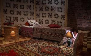 Кровать или кровати в номере Guesthouse Little Tundra