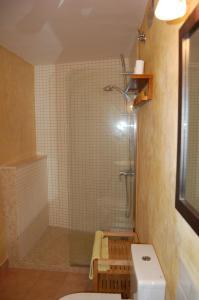 A bathroom at Ca l'Estruch