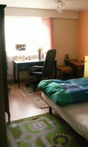 Ein Bett oder Betten in einem Zimmer der Unterkunft Villa Lavendel