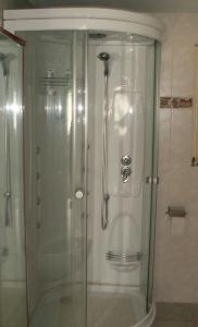 Ein Badezimmer in der Unterkunft Villa Lavendel