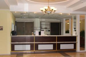 The lobby or reception area at Yubileinaia
