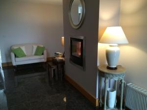 A seating area at Lough Eske Lodge B&B