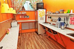 A kitchen or kitchenette at Prival