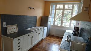 Cuisine ou kitchenette dans l'établissement Pyrénées - Le Nid d'Ax