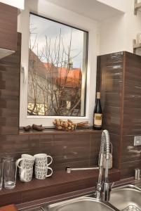 A bathroom at Luxury Apartment Novobranska