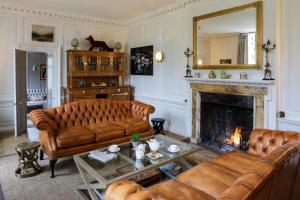 A seating area at The Slaughters Manor House