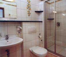 Ein Badezimmer in der Unterkunft Hotel-Gasthof Lamm