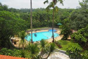A view of the pool at The Gecho Inn Country or nearby