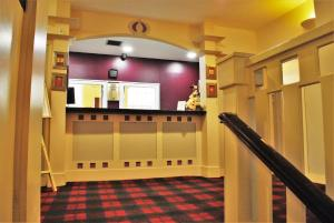 The lobby or reception area at Rennie Mackintosh Hotel - Central Station