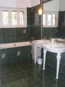 Salle de bains dans l'établissement Pyrénées - Le Nid d'Ax