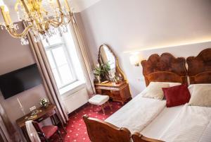 Ein Sitzbereich in der Unterkunft Urban Stay Salzburg City