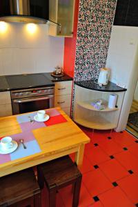 مطبخ أو مطبخ صغير في Jasmine Apartamenti