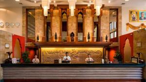 The lobby or reception area at Angkor Miracle Resort & Spa