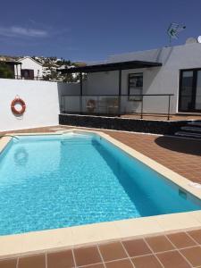 Der Swimmingpool an oder in der Nähe von Casa Alba