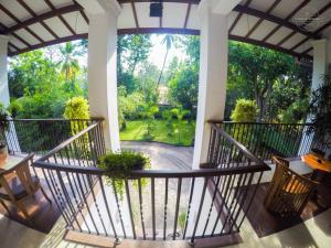 A balcony or terrace at West Dene