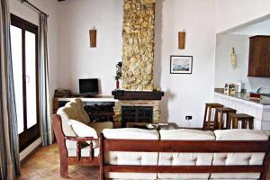 Zona de estar de Casa Rural Elanio Azul