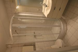 Een badkamer bij De Groede