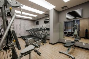 The fitness centre and/or fitness facilities at Hotel Atlantico Prime