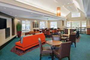 A restaurant or other place to eat at Residence Inn Boston Norwood