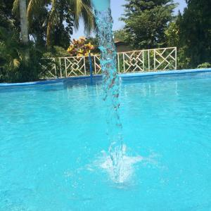 The swimming pool at or near Hotel Ometepetl
