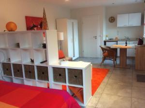 Küche/Küchenzeile in der Unterkunft Vakantieverblijf Luxemburg