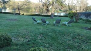Jardin de l'établissement Chateau Magondeau