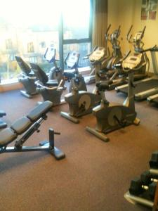 The fitness center and/or fitness facilities at Jurys Inn Derby