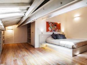Coin salon dans l'établissement Spanish Steps Luxury Penthouse