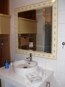 A bathroom at Apartamento Silveira