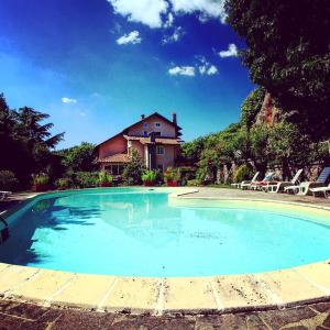 The swimming pool at or near Hotel Parco Erosa