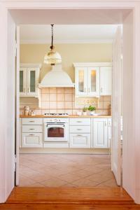 Kuchnia lub aneks kuchenny w obiekcie Apartament Sophie