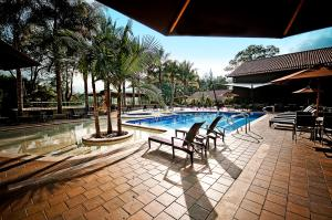 The swimming pool at or near Movich Hotel Las Lomas