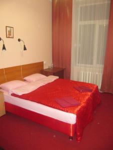 Кровать или кровати в номере Отель КИК7