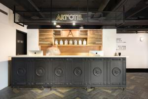 The lobby or reception area at Art'otel Ximending Taipei
