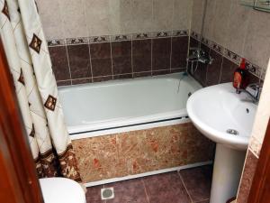 Ванная комната в Гостиница «Ак-гёль»