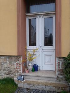 Eine Fassade oder ein Eingang zu Ferienwohnung Limona